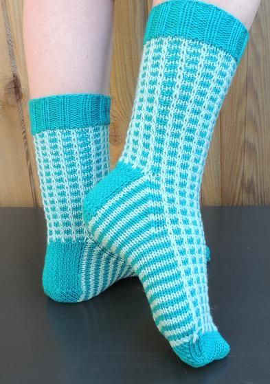 Sock Feat! Pattern - Knitting Patterns and Crochet Patterns from KnitPicks.com