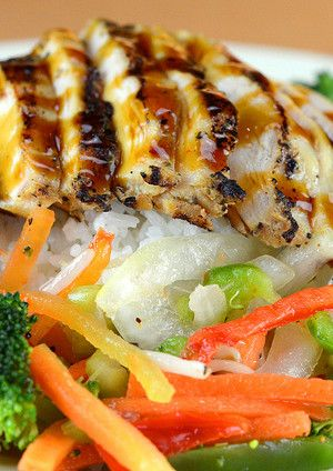 Authentic Teriyaki Chicken. This is easy and sounds fabulous!!