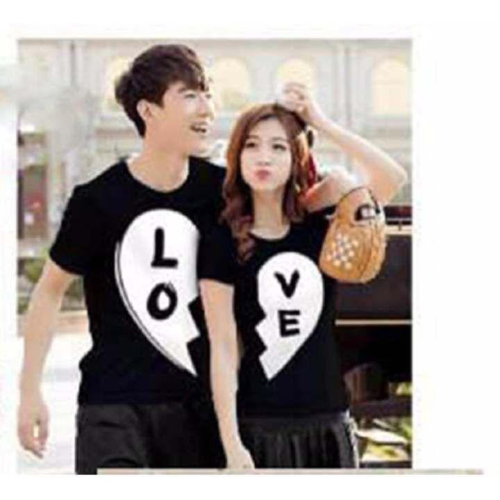 Baju Kaos Pasangan Kekasih