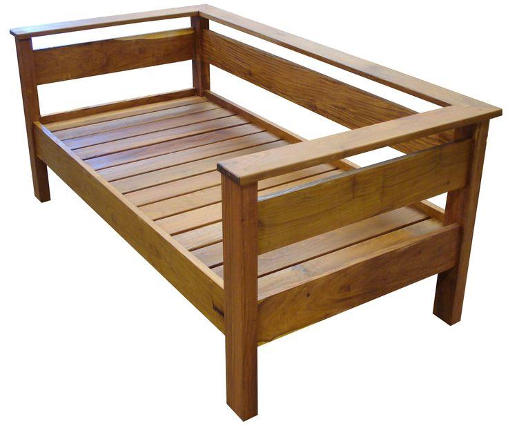 Las 25 mejores ideas sobre bancas para jardin en for Muebles de terraza madera