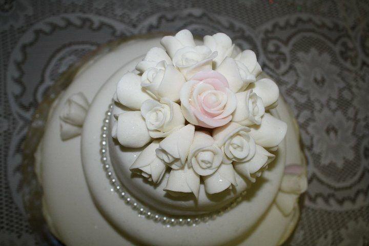 Royal icing rose