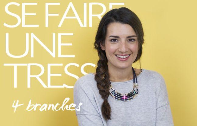 VIDEO. Tuto coiffure: Comment se faire une tresse à 4 branches
