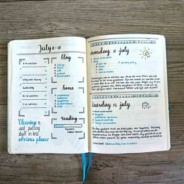 How to: Summer Bullet Journal