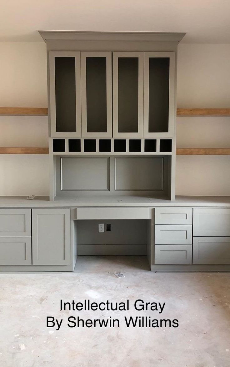 Best Intellectual Gray Sherwin Williams Cabinet Color Gray 400 x 300