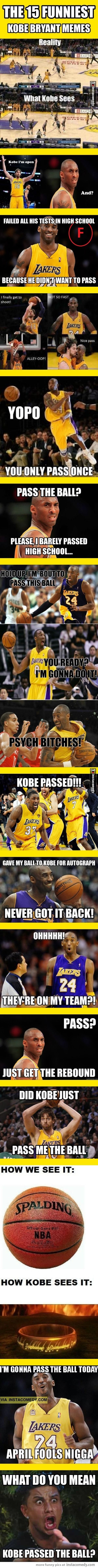 The 15 funniest Kobe Bryant memes funny as hell