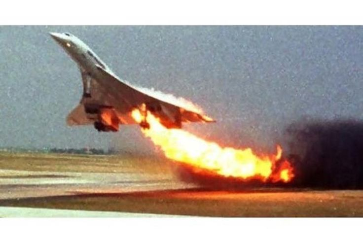 THE ONLY CONCORDE TRAGEDY