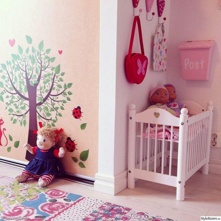 barnrum,flickrum,väggdekor,lumi skjutdörrar,rubens barn