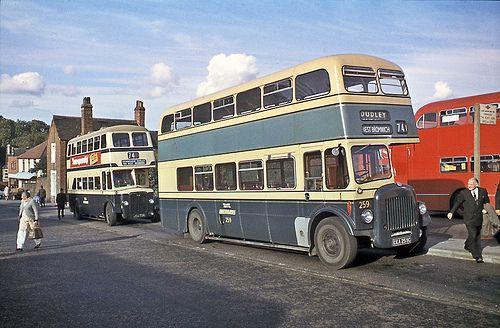Wmpte016 | Dudley Bus station, ex West Bromwich Daimler CVG6… | Flickr