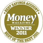 USaver was awarded Money Magazine 2011 Best Savings Account