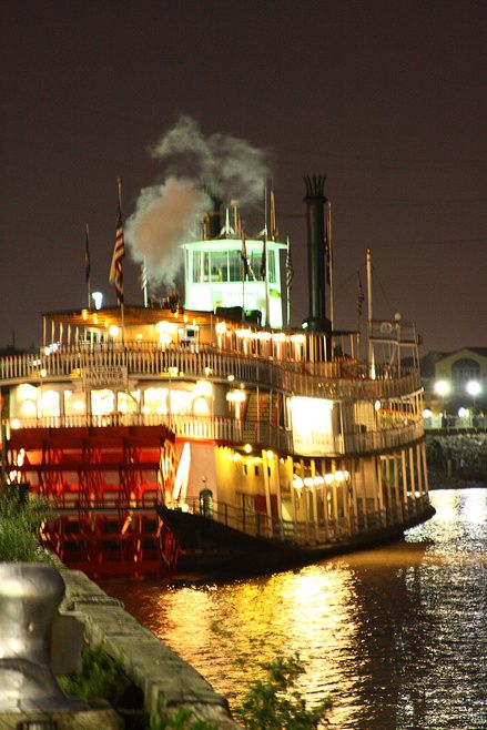 Riverboat Natchez on the Mississippi in New Orleans
