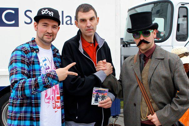 LKP, Tim Westwood and Baron Von Alias at BBC Radio 1 Big Weekend