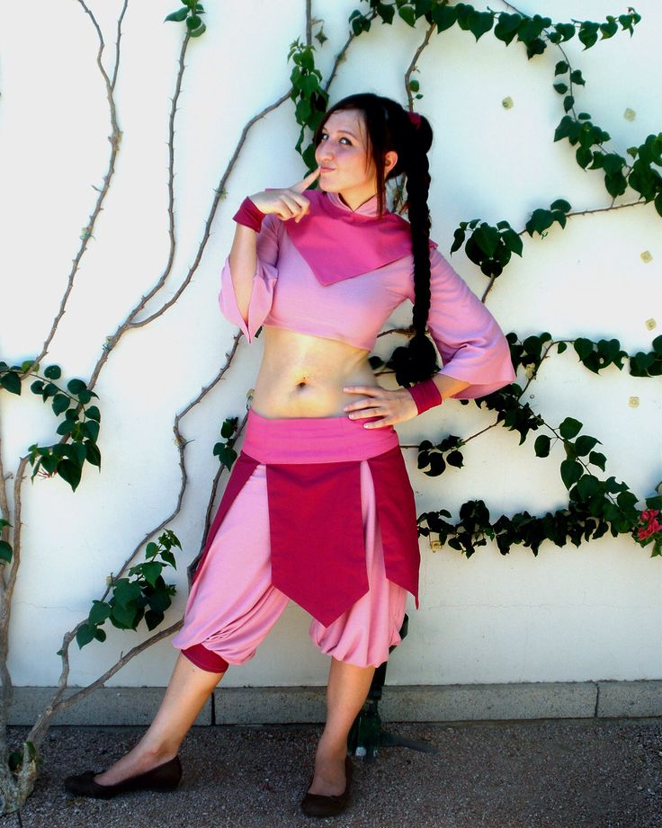 Ty Lee Cosplay Costume (Avatar: The Last Airbender) by cleighcreations on Etsy https://www.etsy.com/listing/80436684/ty-lee-cosplay-costume-avatar-the-last
