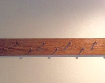 Chevrolet Wood Coat Rack  Chevy Wall Hat Rack with by StarlingInk