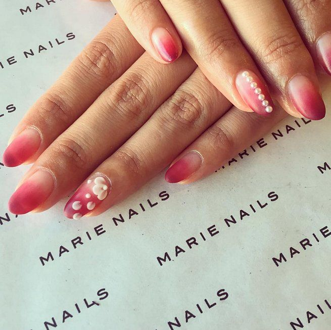 The 25 best pearl nail art ideas on pinterest natural nail art pearl nail art ideas to make your holiday season more elegant prinsesfo Gallery