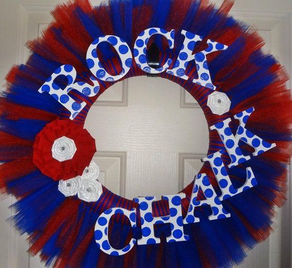 kansas jayhawks wreaths | Kansas Jayhawks Rock Chalk | Easy Wreaths to Make
