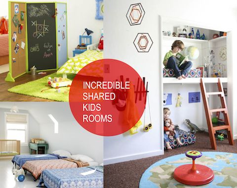 10 Incredible Shared Kids Rooms