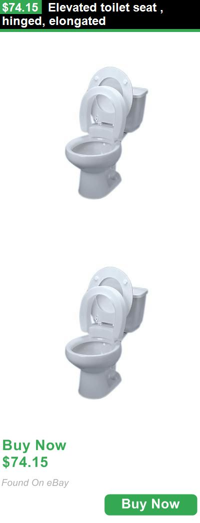 Toilet Seats 171540: Elevated Toilet Seat , Hinged, Elongated BUY IT NOW ONLY: $74.15