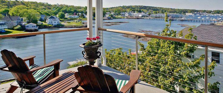 Harborage inn on the Oceanfront, Boothbay Harbor