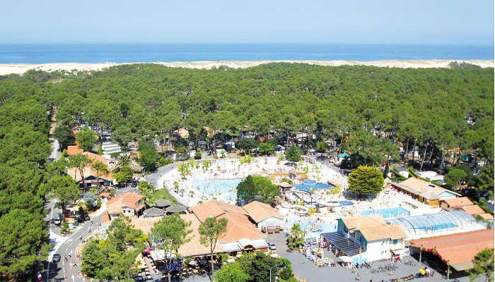 Des vacances les pieds dans l'eau, au Camping le Vieux Port *****, à Messanges http://bougerenfamille.com/camping-a-messanges/