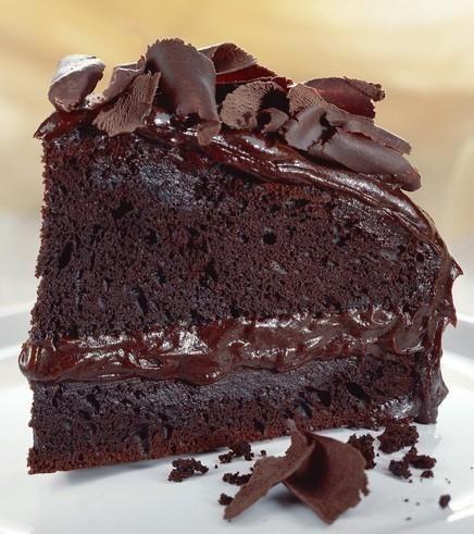 Torta al cioccolato all'inglese