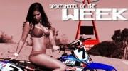 Spokesmodel of the week, James Stewart YZ450F plus a girl