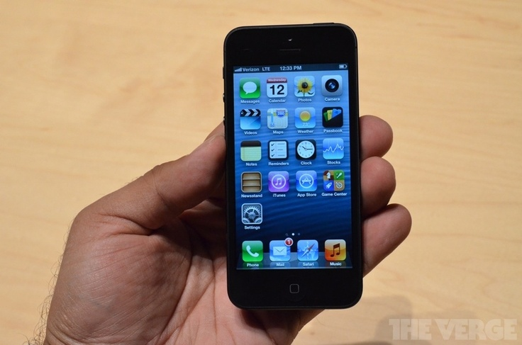 iPhone 5 hands-on pictures, video, and impressions | The Verge