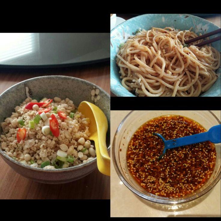 #dandanmian made from #rasamalaysia recipe #thankyou #delicious @rasamalaysia