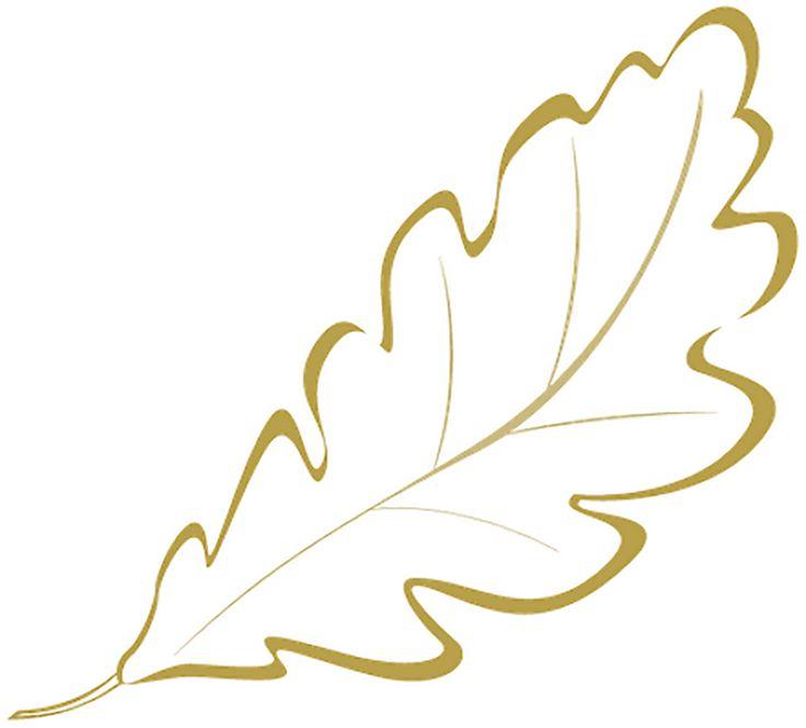 Трафареты листьев, шаблоны листьев: листья для вырезания распечатать