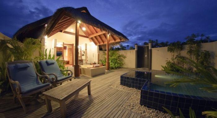 Ubytování na #Maledivách
