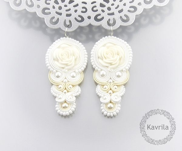 pascali white soutache by Kavrila