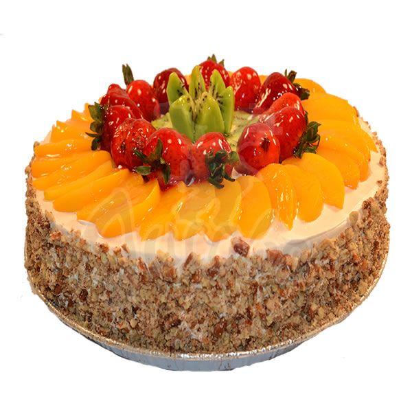 Pasteles decorados con frutas naturales - Imagui