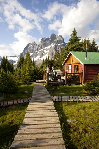 Tonquin Valley Backcountry Lodge, Jasper National Park