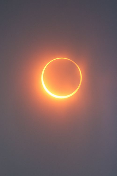 Eclipse (by Simon Christen)In alignment with the Sun and the Moon. Annular eclipse 2012 shot from Mt. Shasta in California.