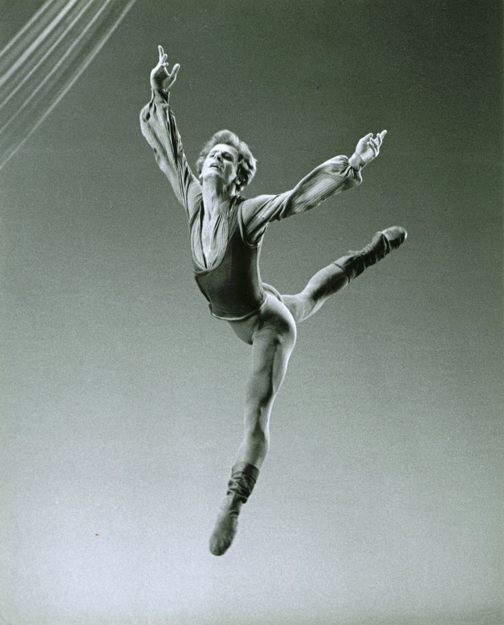 Mikhail Baryshnikov in Jerome Robbins' Other Dances Photo by Martha Swope