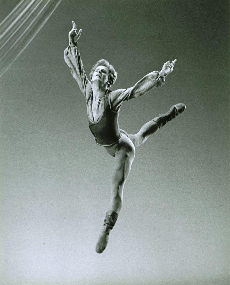 Mikhail Baryshnikov in Jerome Robbins' Other Dances Photo by Martha Swope
