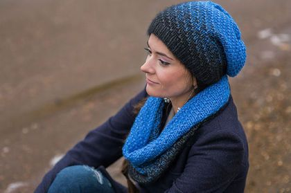 комплект шапка и шарф, шапка и шарф женский, комплекты вязаные, вязаные шапка и шарф, вязаные комплекты, шапка шарф комплект, длинная шапка шарф, шарф и комплект, труба шарф шапка, вязаный шарф, шапка вязаная, вязаные головные уборы, шапки вязаные женские, хомут шарф, шарф вязаный, шарф труба, купить шарф, шарф-хомут, шарф и шапку купить, омбре, градиент, переход цвета, синий