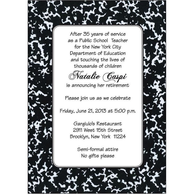 The 25+ best Retirement party invitation wording ideas on ...