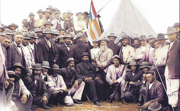 Eerstehandse blik op stryd tussen #Boer en #Brit foto van kommando OVS Pres Steyn. #ABW