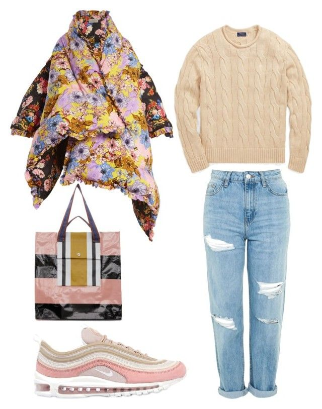 """A Little Winter"" by oheytita on Polyvore featuring NIKE, Acne Studios, Preen, Topshop and Polo Ralph Lauren"