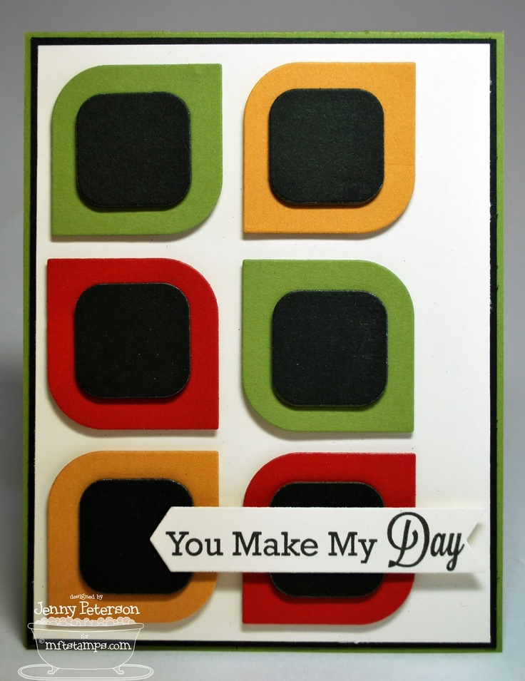 You Make My Day, Accent It - Labels and Tabs Die-namics - Jenny Peterson