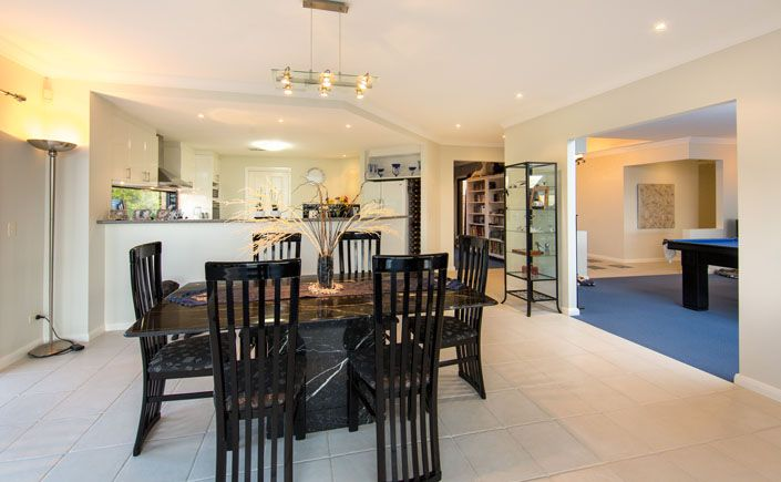 The Dining area | Lifestyle Property For Sale | Beechworth Vic, Australia