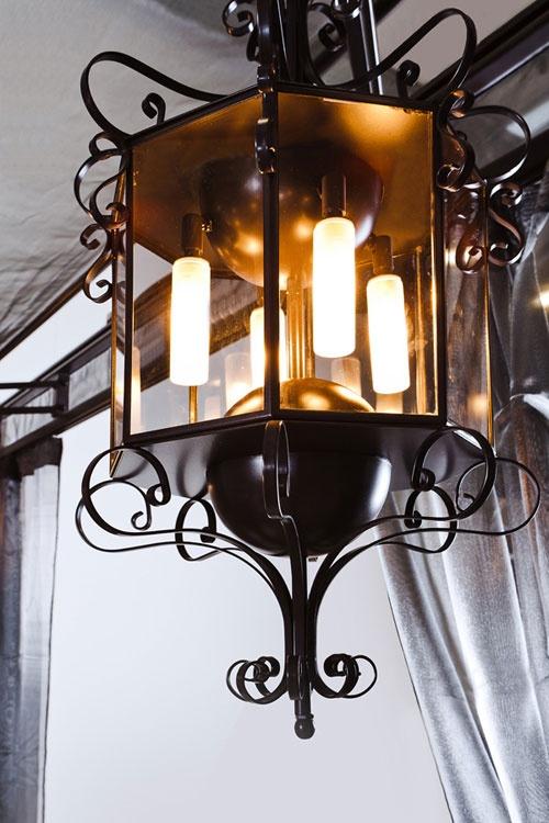 Dolcefarniente outdoor lanterna per Gazebo by Samuele Mazza