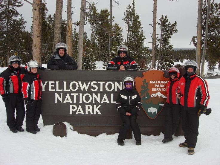Old Faithful Snowmobile Tours - Yellowstone Snowmobiling Day Tour - Jackson WY