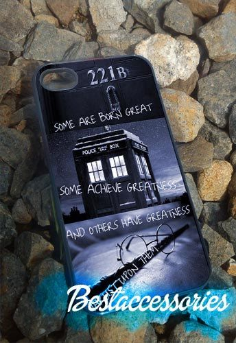 Sherlock holmes harry potter  iPhone 4/4s/5 by Bestaccessories, $14.00