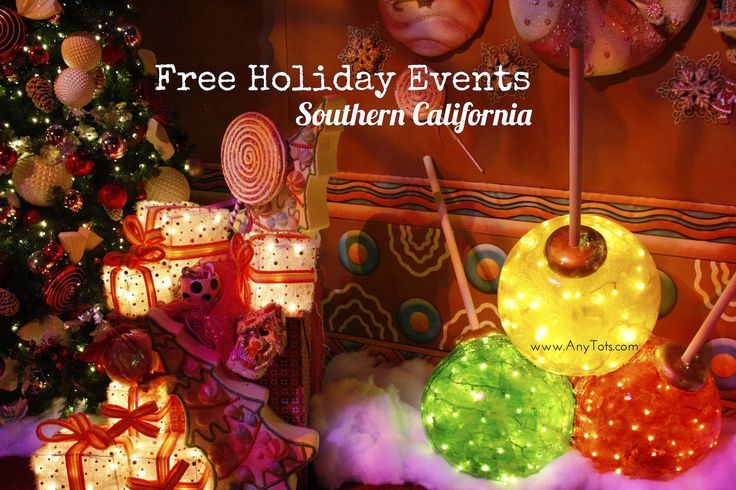 Cheap and FREE Holiday Events: Los Angeles and Orange County 2016