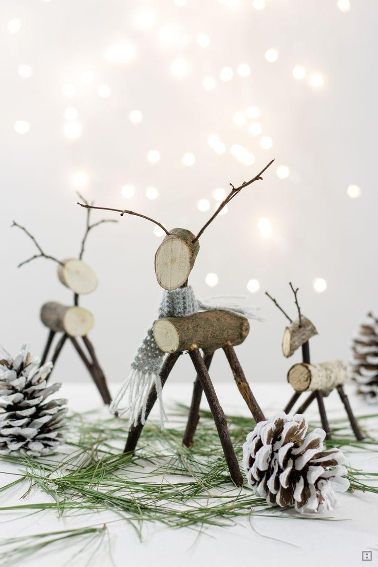die besten 25 elche basteln ideen auf pinterest basteln weihnachten rentier weihnachtskarte. Black Bedroom Furniture Sets. Home Design Ideas