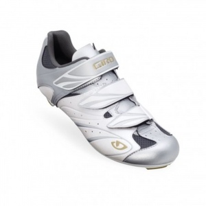 Giro Sante Cycle Cleats Womens Silver Fiber - ONLY $100.00