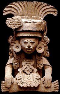 Les Zapotèques - Peuple précolombien du Mexique URNE FUNERAIRE