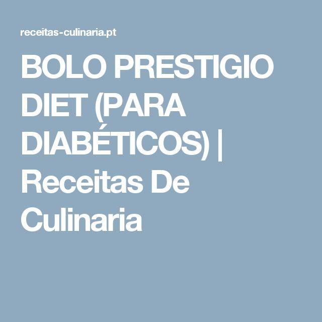BOLO PRESTIGIO DIET (PARA DIABÉTICOS) |  Receitas De Culinaria