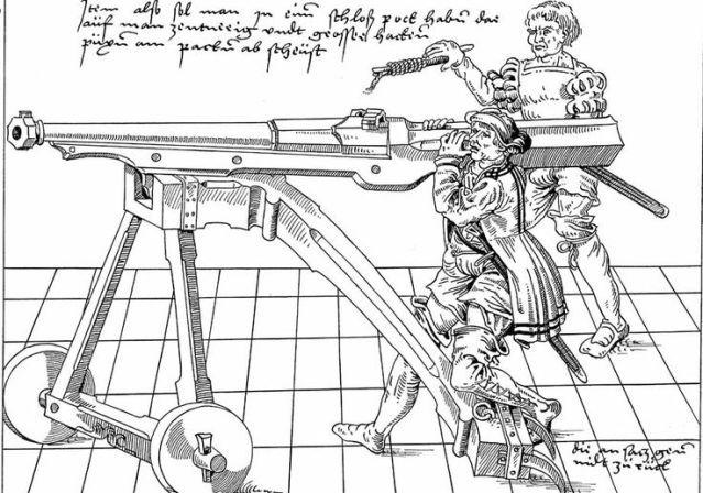 Vozíky pro velké mušketa. Zdroje chtěl! - Zbraně - Medieval Forum